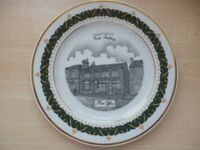 limited edition plate collection in 18ct guilt edge. excellent condition