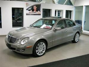 2009 Mercedes E300 4MATIC, GPS, 99$/sem TAXES + INTÉRÊTS INCLUS!