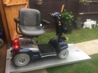Heavy Duty 22 St Capacity Sterling Sapphire Mobility Scooter Any Terrain Fast Road Legal Only £450
