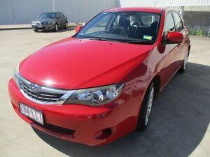 2007 Subaru Impreza Red Manual Ayr Burdekin Area Preview