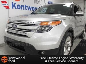 2013 Ford Explorer Limited AWD with sunroof, heated/cooled power