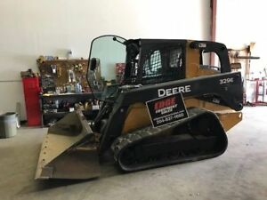 2014 JOHN DEERE 329E SKID STEER LOADER