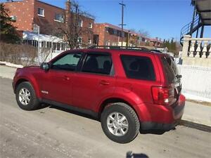 2008 MAZDA TRIBUTE- automatic- AWD- 4CYLINDRES- 140km- 5500$