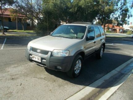 2001 Ford Escape BA XLT Light Gold 4 Speed Automatic Wagon Alberton Port Adelaide Area Preview
