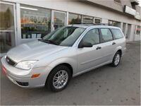 2006 Ford Focus Wagon ZXW--- CLEAN CARPROOF----SUNROOF
