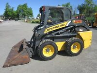2011 New Holland L218 Skid Steer