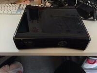 Xbox 360 Elite Gloss Black 250GB + Games