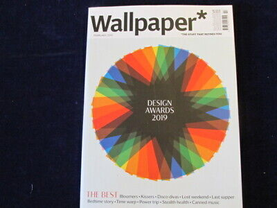 Wallpaper* Magazine UK the BEST Design Awards 2019 MINT Condition February