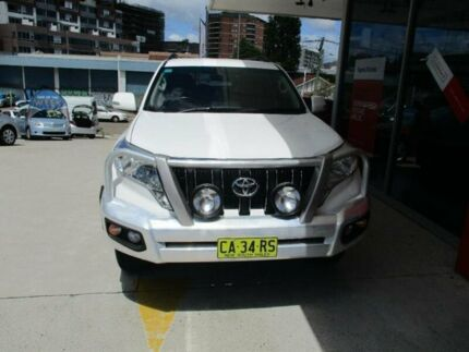 2014 Toyota Landcruiser Prado KDJ150R MY14 GXL (4x4) Glacier White 5 Speed Sequential Auto Wagon Hurstville Hurstville Area Preview