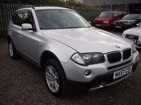 BMW X3 2.0 D SE 5d 148 BHP (silver) 2007