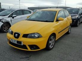 2007 SEAT IBIZA 1.2 12V BREAKING FOR SPARES PARTS
