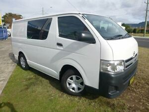 2012 Toyota Hiace TRH201R MY12 Upgrade LWB French Vanilla 4 Speed Automatic Van Brownsville Wollongong Area Preview