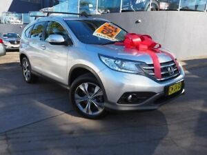 2014 Honda CR-V RM MY14 DTi-L 4WD Silver 5 Speed Sports Automatic Wagon Brookvale Manly Area Preview