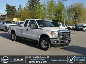 2014 FORD F-250 SUPER DUTY XLT EXT CAB LONG BOX 4X4 *LOW KM*