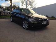 2007 BMW 320i E90 07 Upgrade Black 6 Speed Steptronic Sedan St Marys Penrith Area Preview