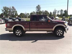 2011 Ford F-250 Lariat,4X4,LEATHER,WELL OILED LOCAL TRADE!! Kitchener / Waterloo Kitchener Area image 4