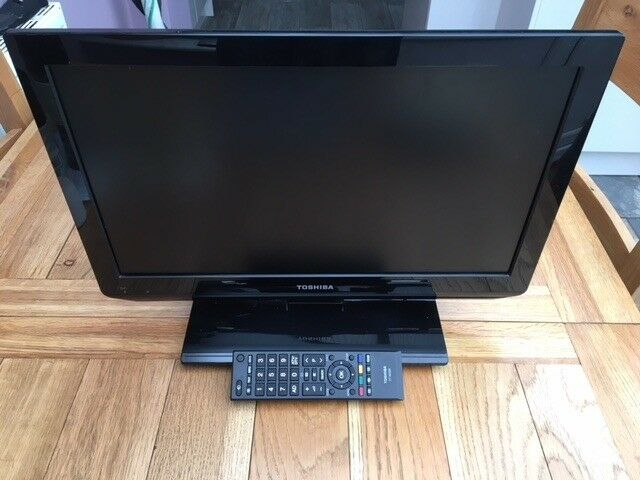 "Small Caravan suitable Toshiba 19"" LCD TV Model 19EL833B"