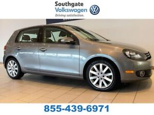 2012 Volkswagen Golf TDI | HEATED SEATS | SUNROOF | ALLOY WHEELS