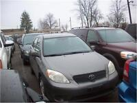 2005 Toyota Matrix nice car AS-TRADED RUNS AND DRIVES AS-IS
