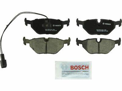 For 1994-1995 BMW 540i Brake Pad Set Rear Bosch 13257BK QuietCast Ceramic Pads