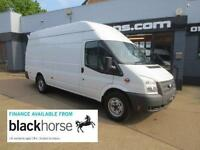 2013 Ford Transit Jumbo T350 2.2TDCi 125ps XLWB High Roof E/Windows Diesel white