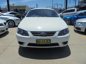 2010 Ford Falcon BF Mk III XT White 4 Speed Automatic Wagon Holroyd Parramatta Area Preview