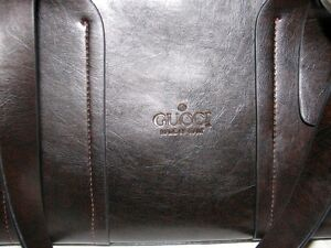 Ladies Gucci Handbag Purse, Brown Leather Kitchener / Waterloo Kitchener Area image 2