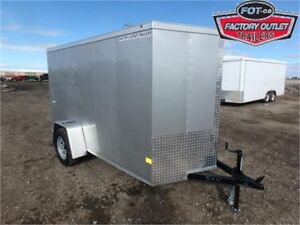 5 X 10 BY WELLS CARGO - LOADED W/OPTIONS FOR ONLY $3,949 TAX IN!