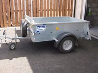 Ifor Williams Car Trailer