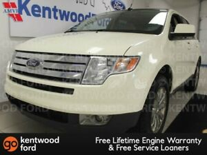 2007 Ford Edge SEL AWD with sunroof, heated power leather seats,