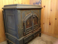 Wood burning fireplace / stove for sale!