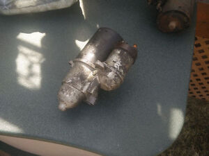 Starter motor from a Buick (GM)