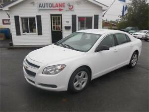 2012 Chevrolet Malibu LS New MVI $0 down, only $72 bi-weekly!