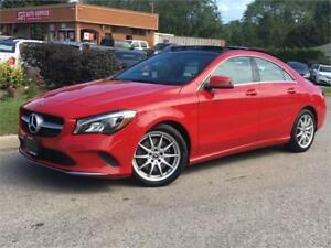 2018 Mercedes-Benz CLA250 4MATIC-NAV-BLINDSPOT-PANO-HEATED SEATS