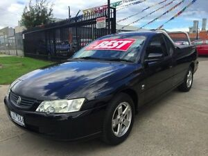 2003 Holden Commodore VY II S Black 4 Speed Automatic Utility Brooklyn Brimbank Area Preview
