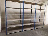 job lot rapid 1 heavy duty industrial shelving SINGLE BAYS ( pallet racking , storage)