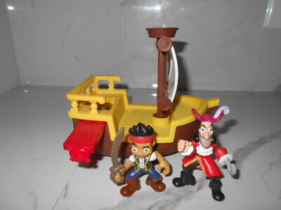 Jake and The Neverland Pirates Ship with Jake and Captain Hook Figures
