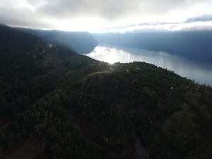 40 Beautiful Acres Over Slocan Lake