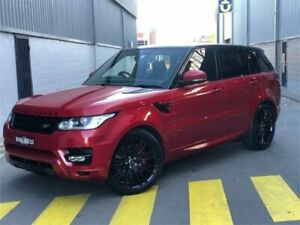2016 Land Rover Range Rover Sport L494 16MY SDV6 HSE Dynamic Red 8 Speed Sports Automatic Wagon Auburn Auburn Area Preview