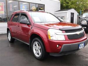 2005 CHEVROLET EQUINOX LT * CLEAR CAR PROOF * CERTIFIED * $4495