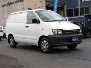 1998 Toyota Townace KR42 SBV White 5 Speed Manual Van Condell Park Bankstown Area Preview