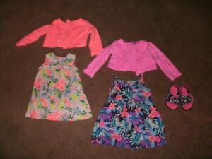 Girl's Summer Dresses, Size 24 Mo.