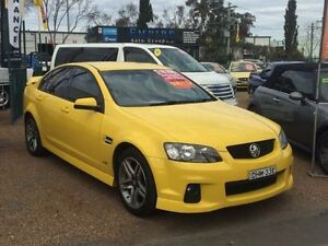 2011 Holden Commodore VE II SV6 Yellow 6 Speed Sports Automatic Sedan Colyton Penrith Area Preview