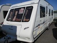 Compass 544 4 berth touring caravan