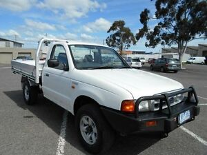 2002 Ford Courier PE GL (4x4) White 5 Speed Manual 4x4 Cab Chassis Maidstone Maribyrnong Area Preview