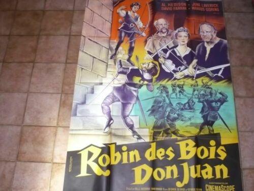 [Poster Original] Robin Of Wooden Don Juan Litho 1959