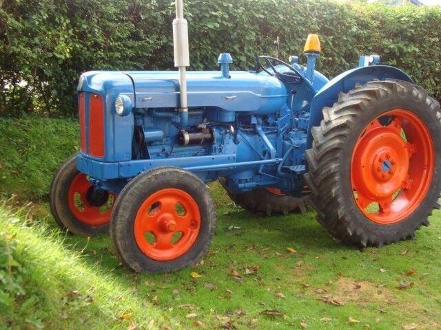 1957 Fordson Major Diesel Tractor : Fordson major in good working order for work or play