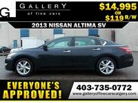 2013 Nissan Altima 2.5 SV $119 bi-weekly APPLY NOW DRIVE NOW