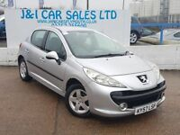 PEUGEOT 207 1.4 SPORT 5d 89 BHP A LOW PRICE 5DR FAMILY HATCHBA (silver) 2007