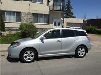 2007 TOYOTA MATRIX. automatic. 145km FULL EQUIPER. IMPECABLE
